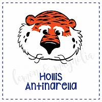 Aubie Personalized Calling Card
