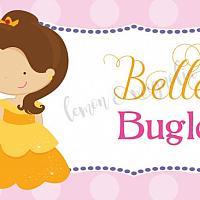 Princess Belle Food Label/Tent