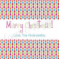 Bright Tree Personalized or Fill in Christmas Gift Tags