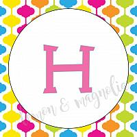 Candy Gumdrops and Lollipops Birthday Banner