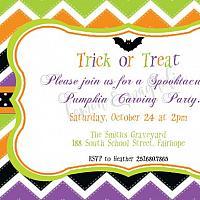Halloween Party Invitation 3