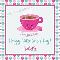 I love you a latte Valentine's Tag