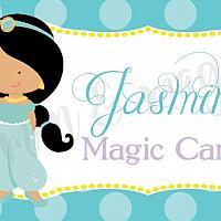 Princess Jasmine Food Label/Tent