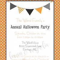 Halloween Party Invitation 5