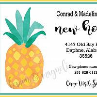 Pineapple Moving Announcement