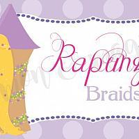Princess Rapunzel Food Label/Tent