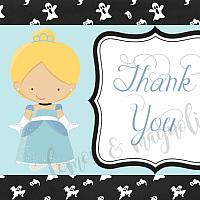 Spooky CInderella Thank You Notecard