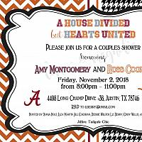 Alabama v Texas A&M House Divided Invitation
