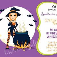 Halloween Party Invitation 6