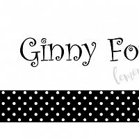 Black Polka Dot with Name Calling Card