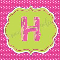 Girls Glamping/Camping Birthday Banner 1